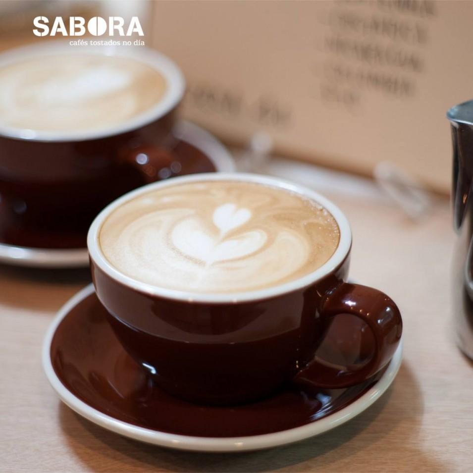 Dos cafés con leche