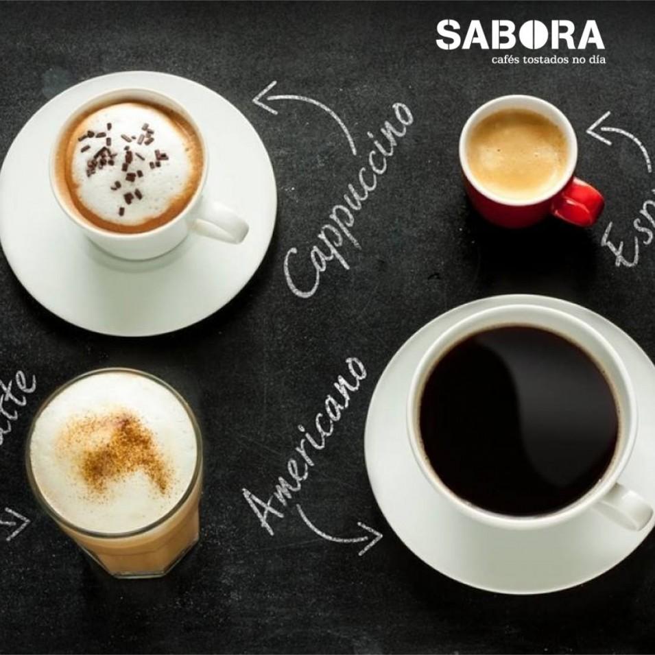 Diferentes tipos de café