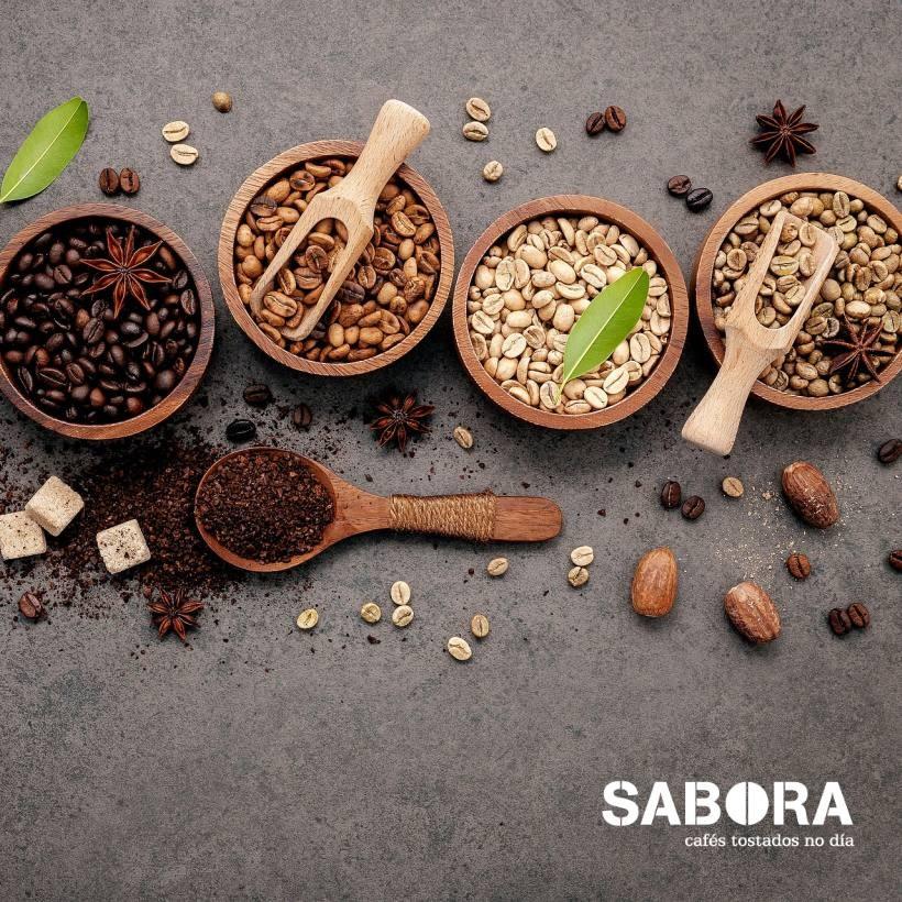 Grans de café