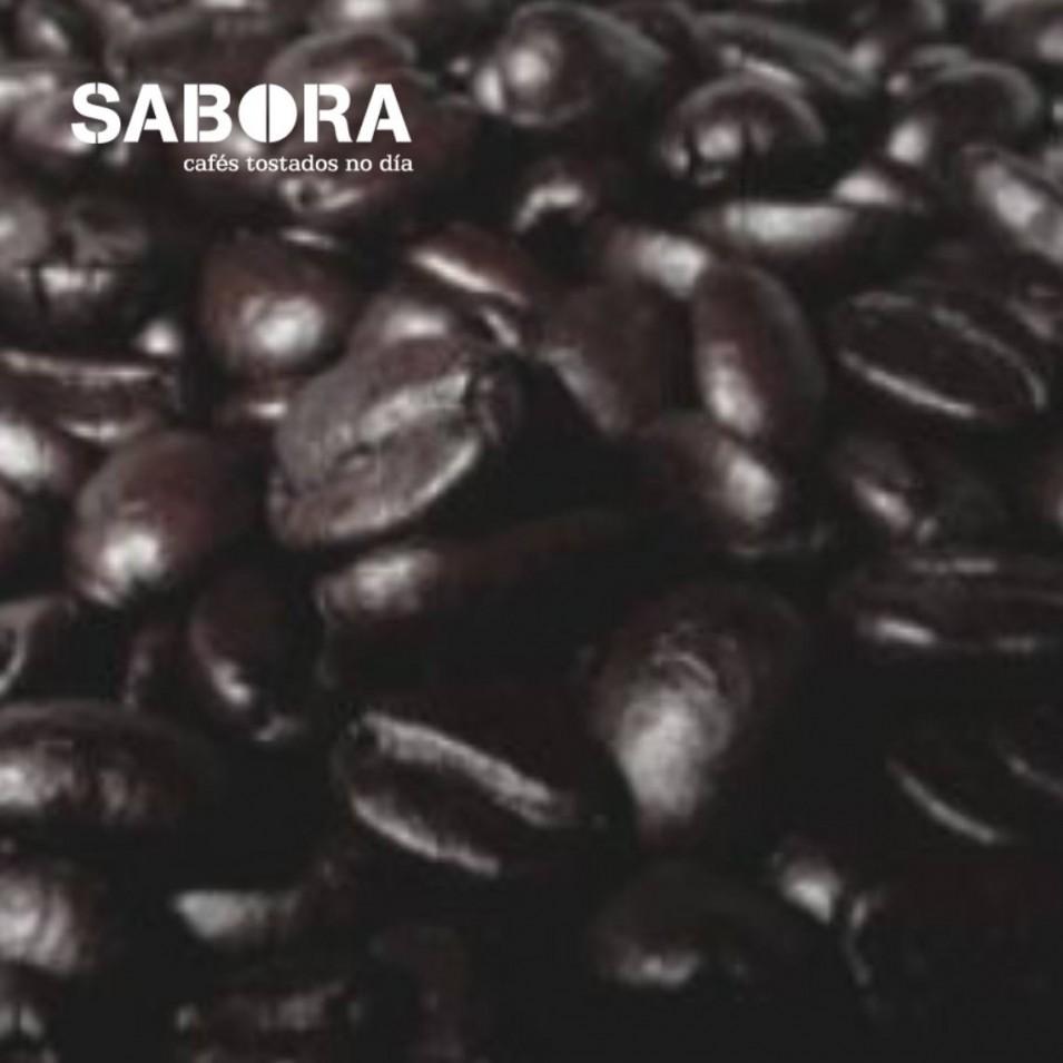 Grans de café torrefacto