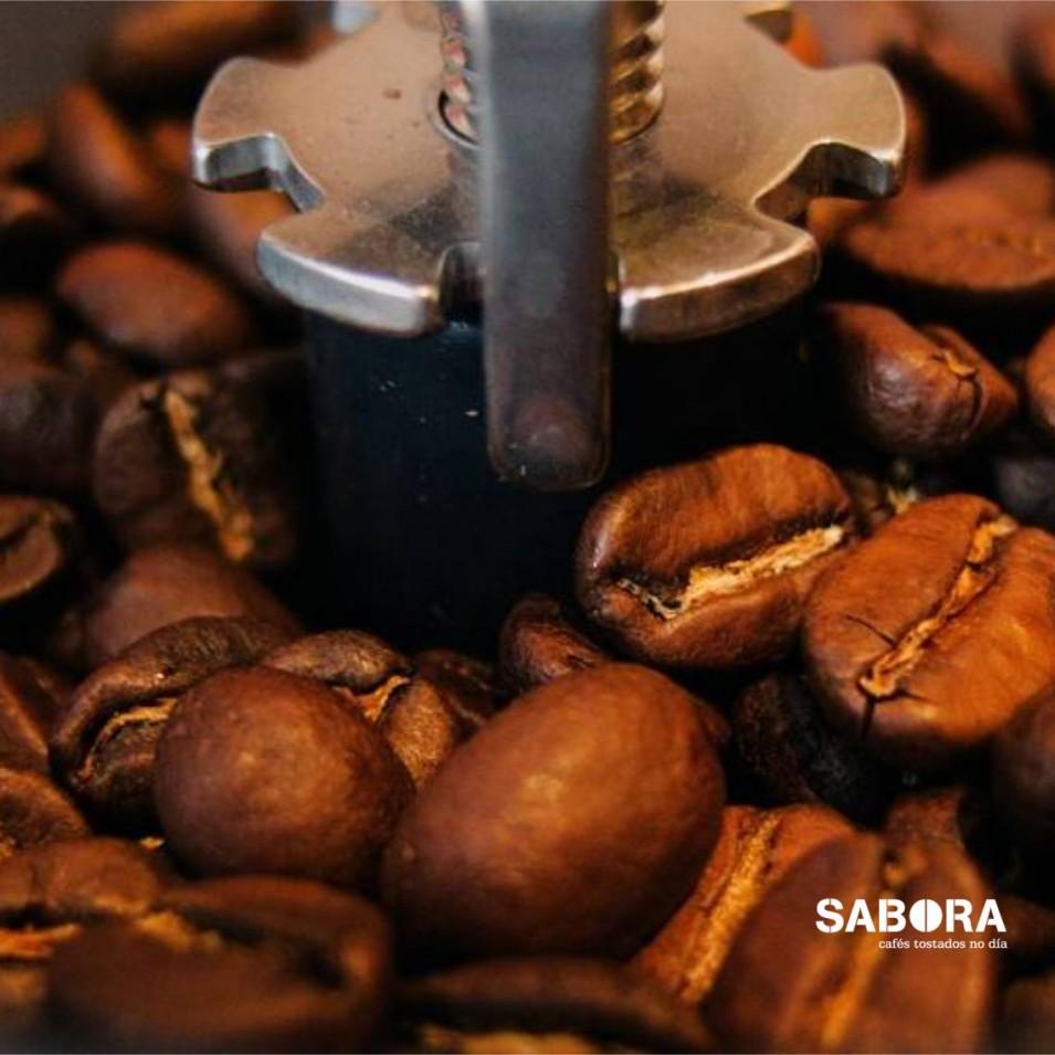 Mecanismo do muíño de café