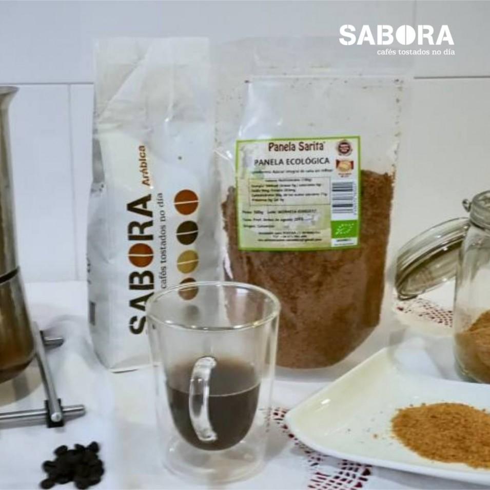 Panela y café