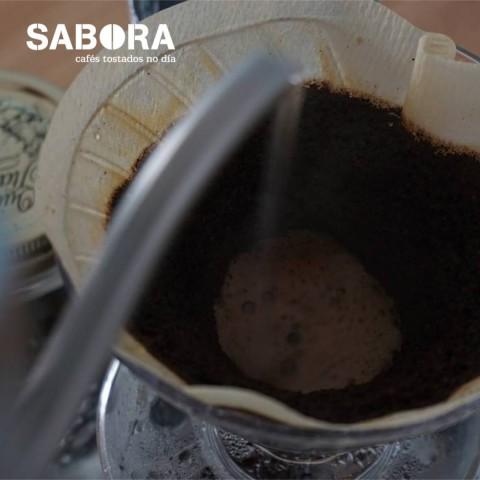 Café americano en cafetera Chemex