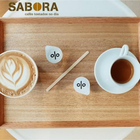 Café latte unha cuestión de porcentaxes.