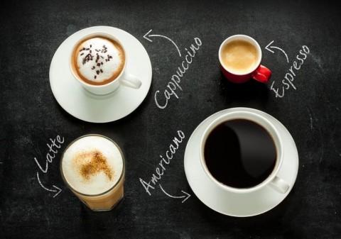 Cafés, tipos de café