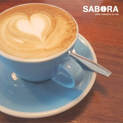 Café Flat White o blanco plano